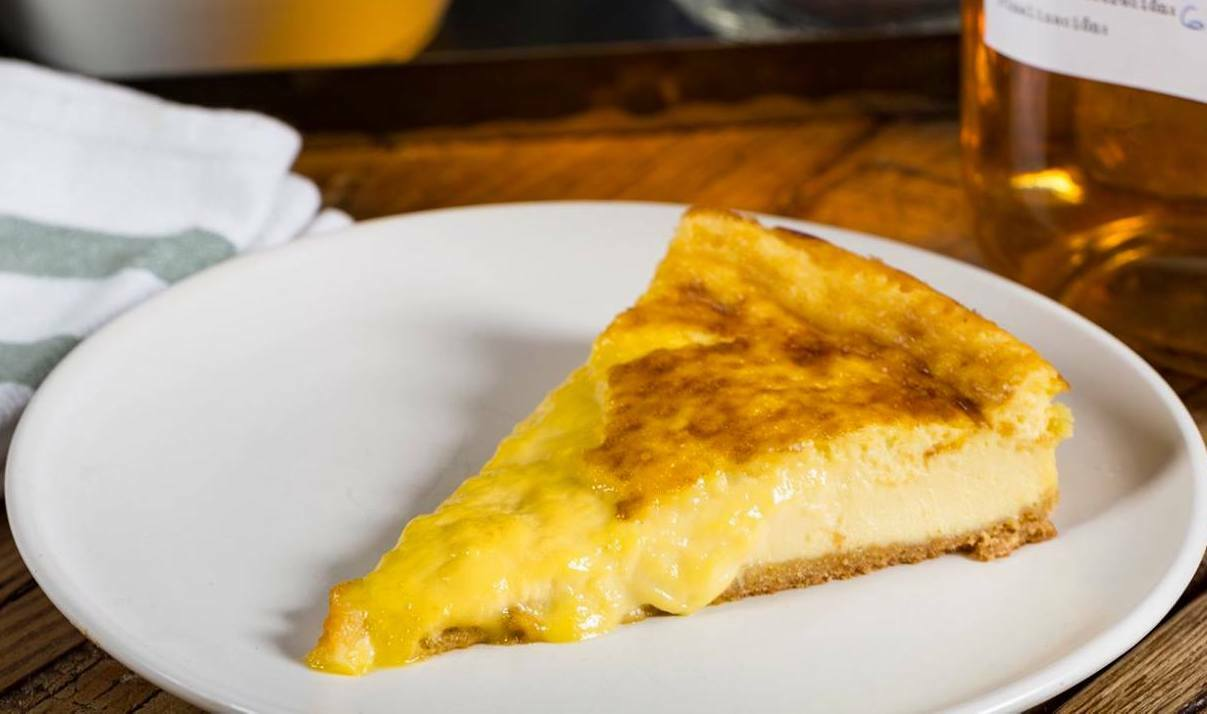 Tarta de queso de Fismuler