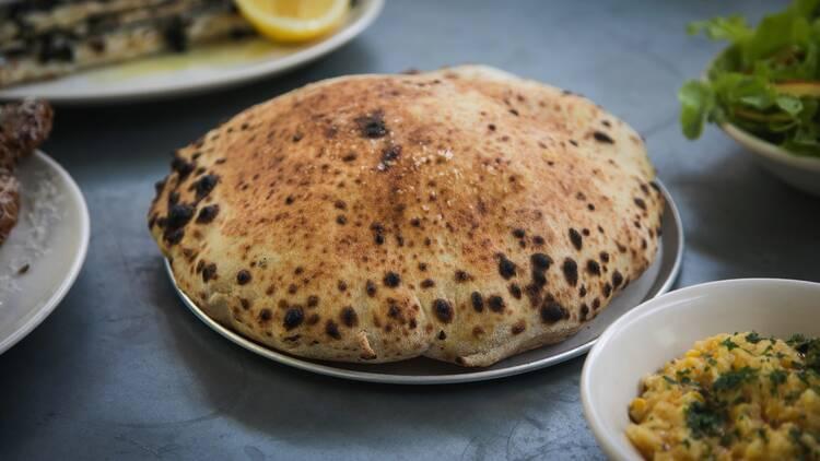 Oven baked bread at Totti's Bondi