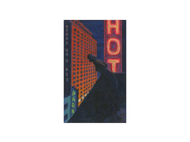 Jane Dickson, Study for Hotel Girl, 2006