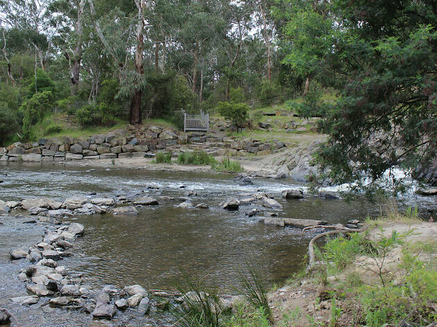 Pound Bend at Warrandyte