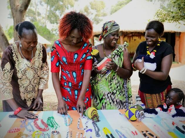 Werribee Zoo African Village Market