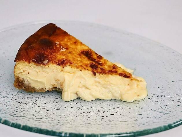 Tarta de queso de Carbón negro