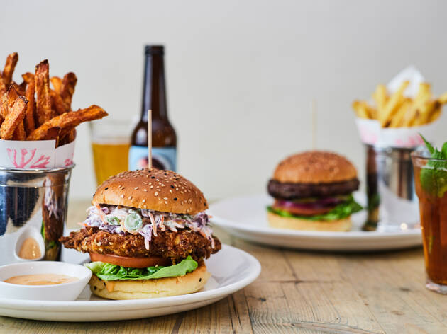Up to 46% off two or three courses and wine at Bill's