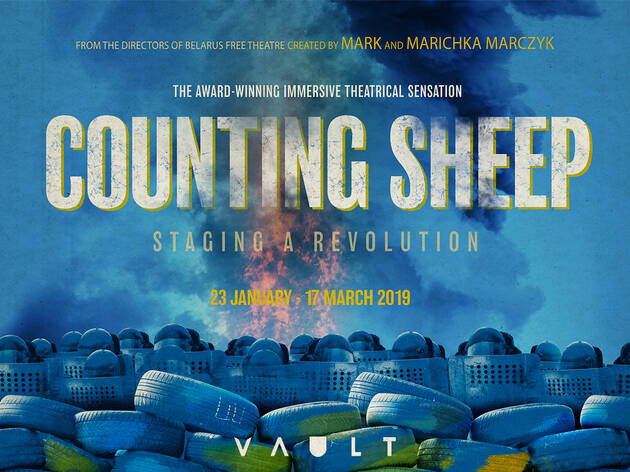 40% off tickets to 'Counting Sheep' at The Vaults
