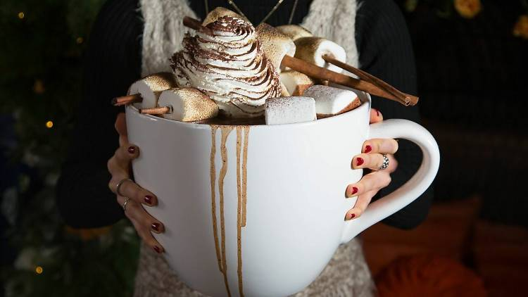PHD Terrace hot chocolate