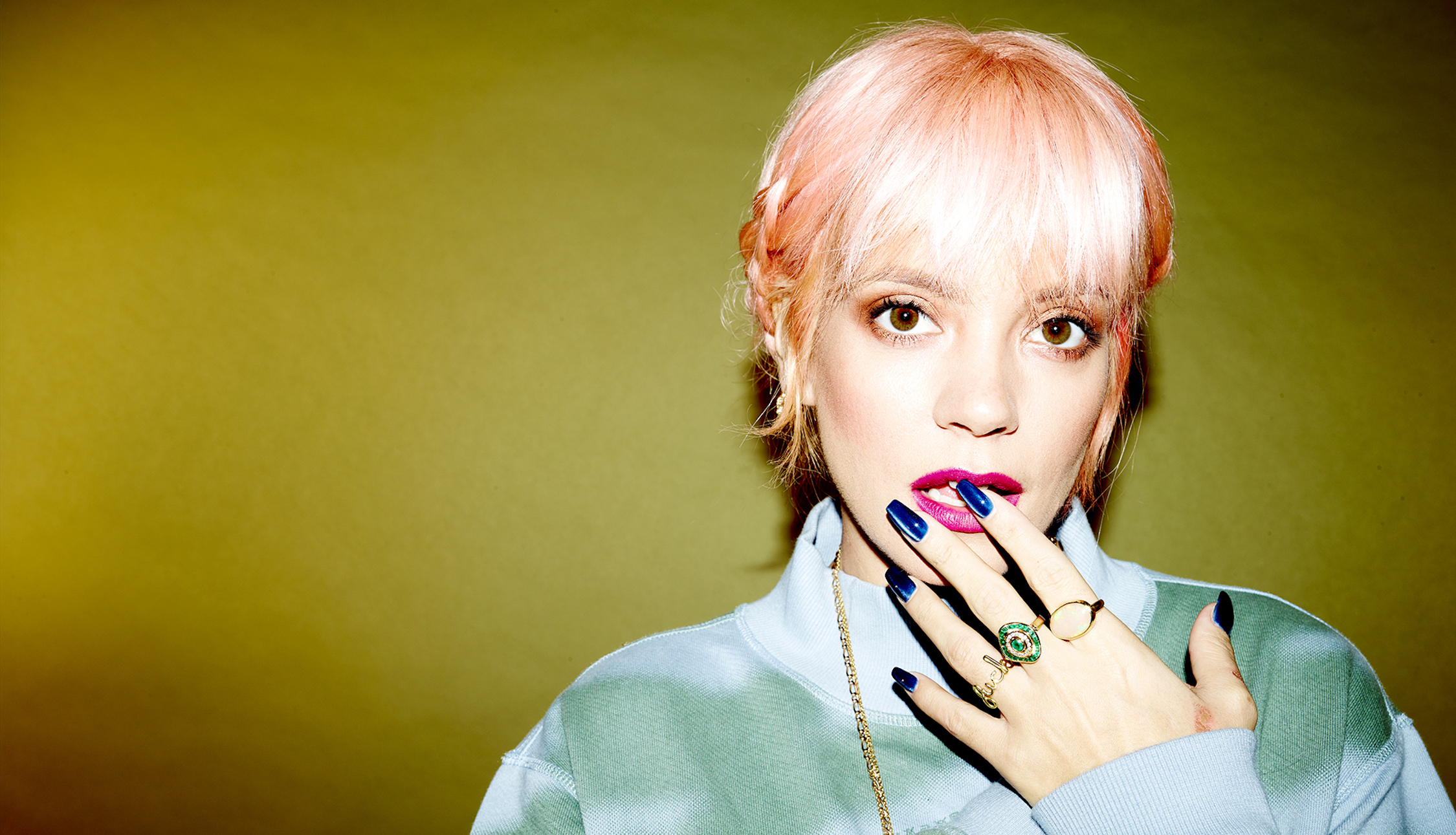 An Evening with Lily Allen at Mercedes me