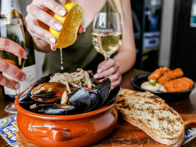 Dig in to all-you-can-eat mussels at Port Melbourne's the Exchange