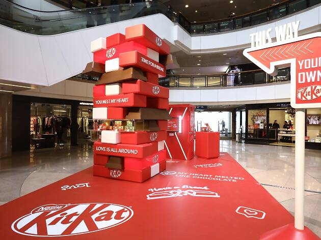 Create Your Own Kit-Kat Pop-up Store