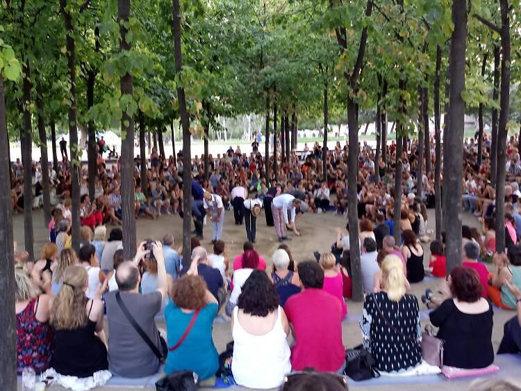 Obres de Shakespeare gratis al parc de l'Estació del Nord