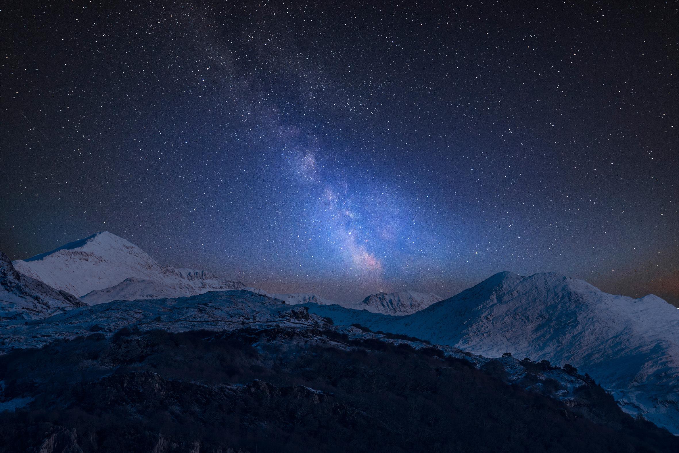 Snowdonia, stargazing