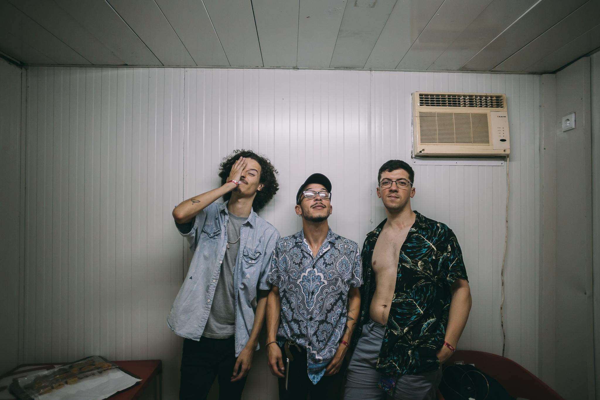 Leonardo da Rocha, Miguel Moura e Pedro Varela formam os Don Pie Pie