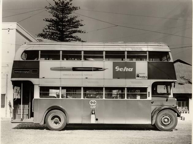 Há mais de 50 anos, os autocarros da Carris era assim