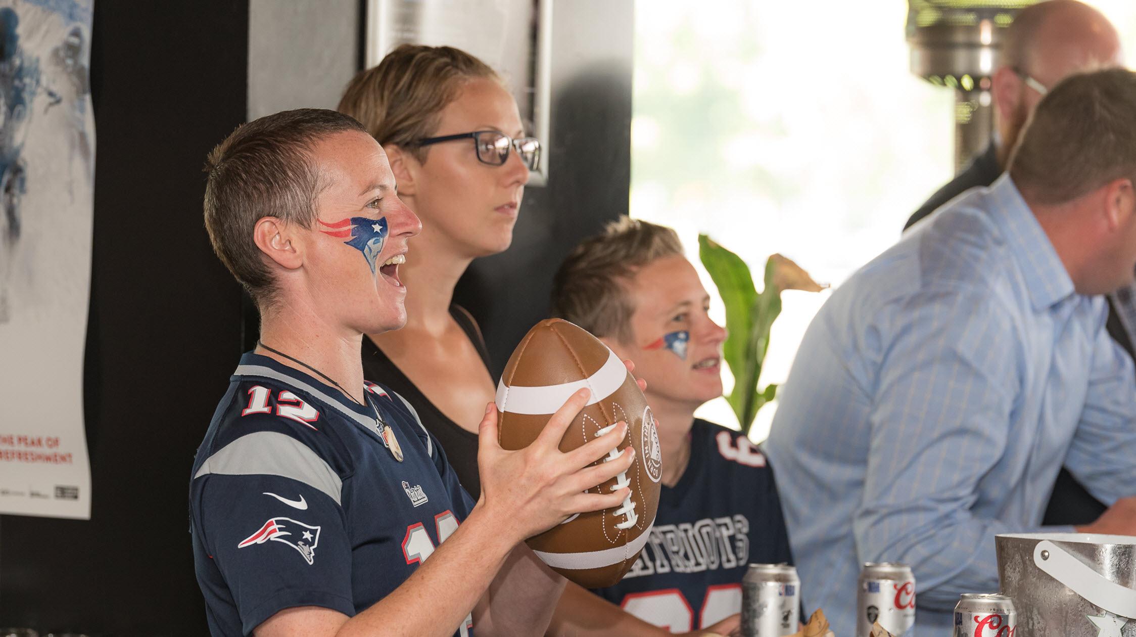 Super Bowl a Harlow