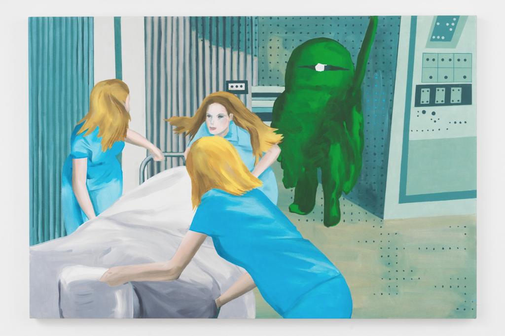 Gary Painter, Nurses Of Gamma, 2018