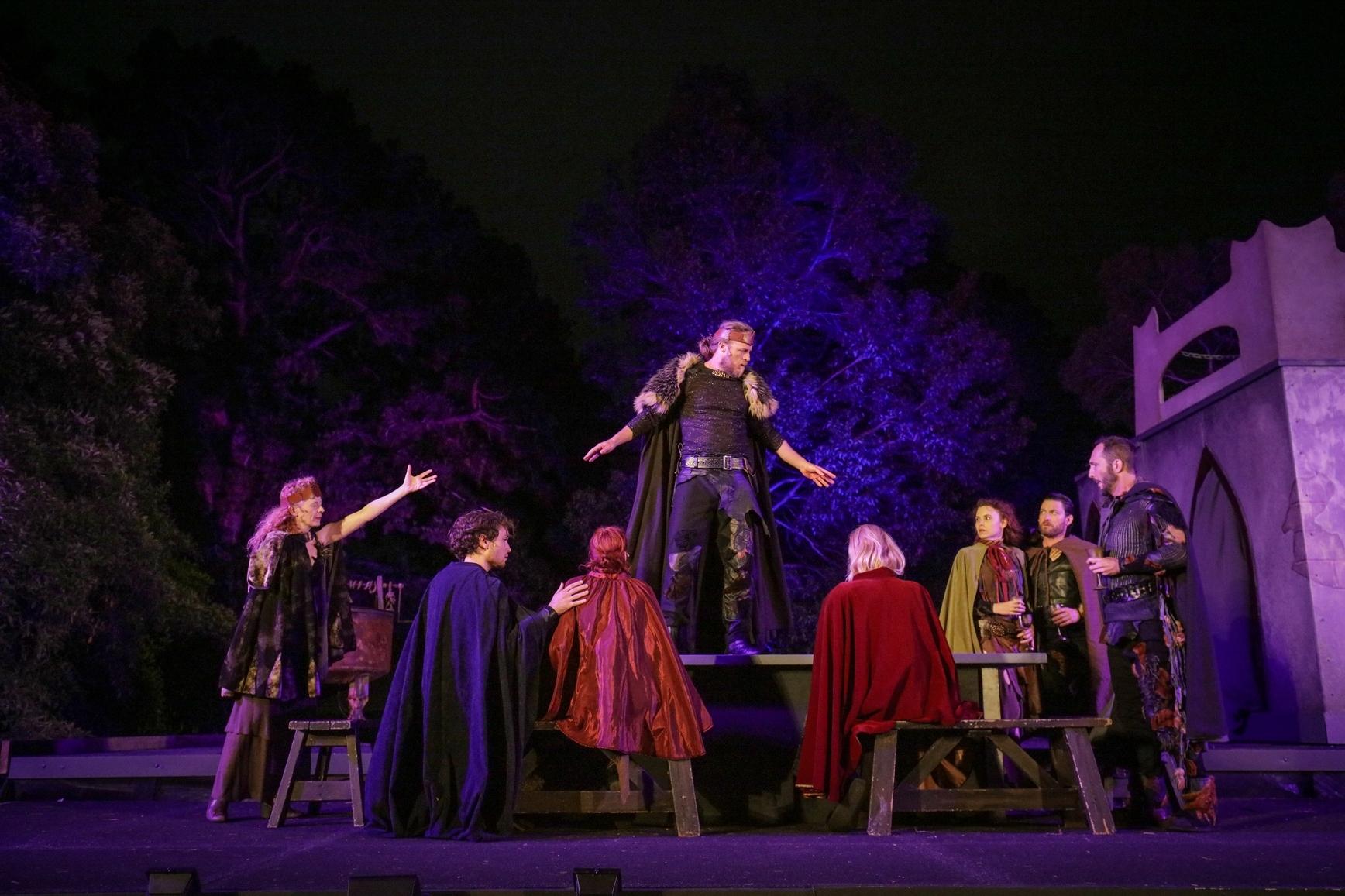 Macbeth - Australian Shakespeare Company - 2019 photo supplied