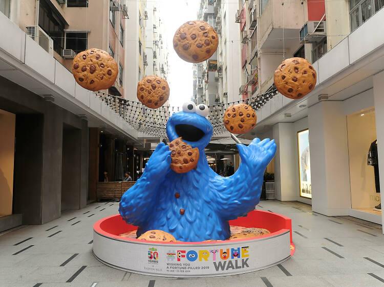 Fashion Walk:《芝麻街》新春巡遊