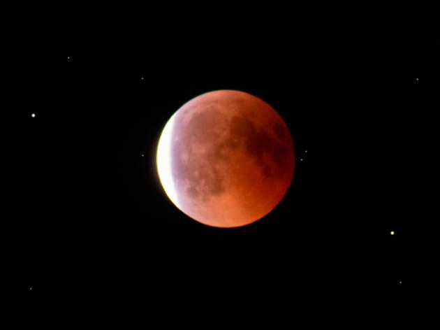 Les imatges més espectaculars de la Lluna de sang
