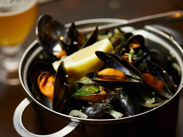 49% off moules-frites and a drink at Belgo