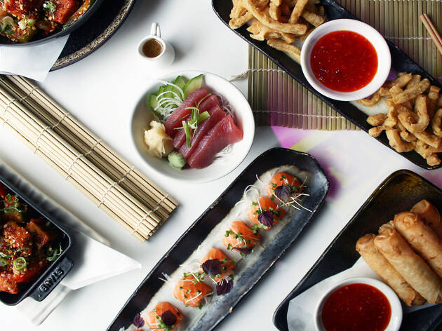 Unlimited food and fizz at Inamo
