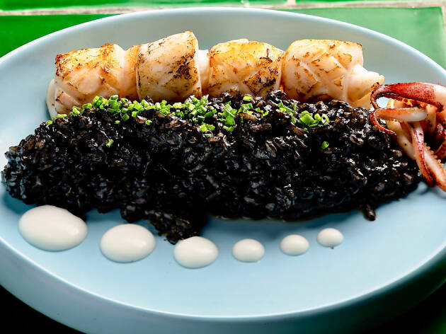 The Optimist – Squid ink Black Rice