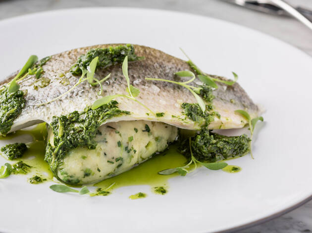 Dear Lilly – Poached sea bass