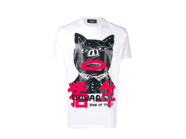 Dsquared2 豬年 T-shirt