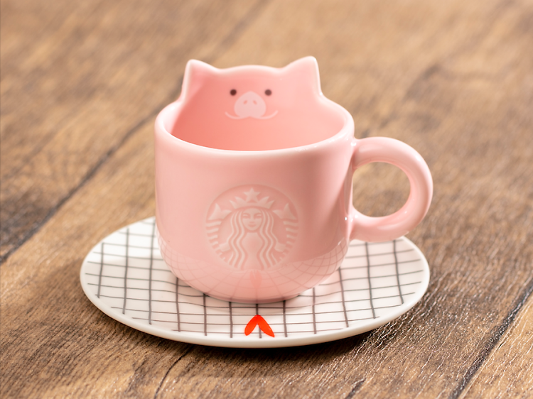 Starbucks 新春小豬系列