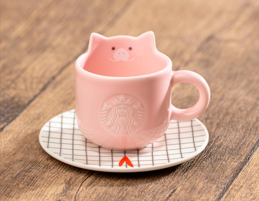 Starbucks pig cny 2019