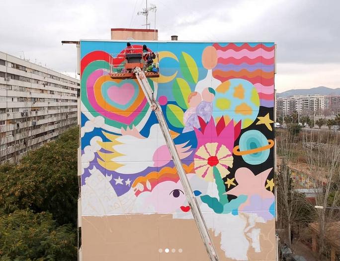 'Street art': Murals a gran escala