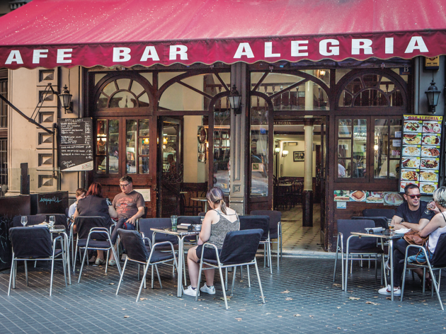Abellan y Colombo recuperan el Cafè Bar Alegria
