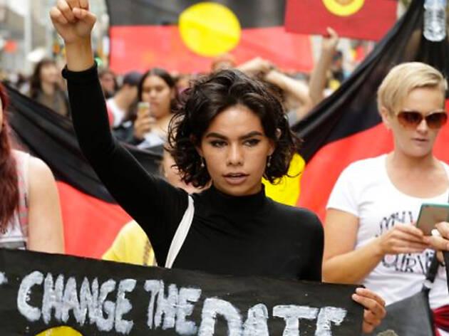 Invasion Day Protest Sydney 2018
