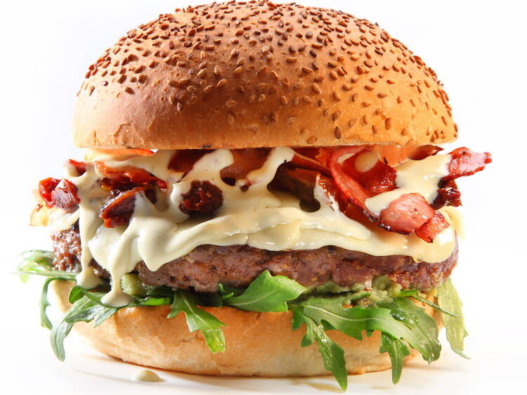 Menú d'hamburguesa