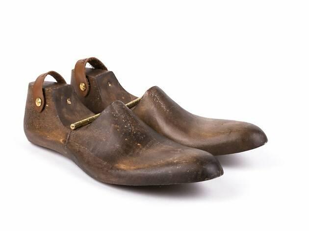 forma de madeira para sapato