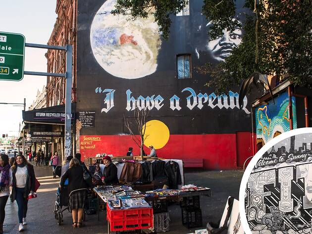 King Street street art 'I have a Dream'