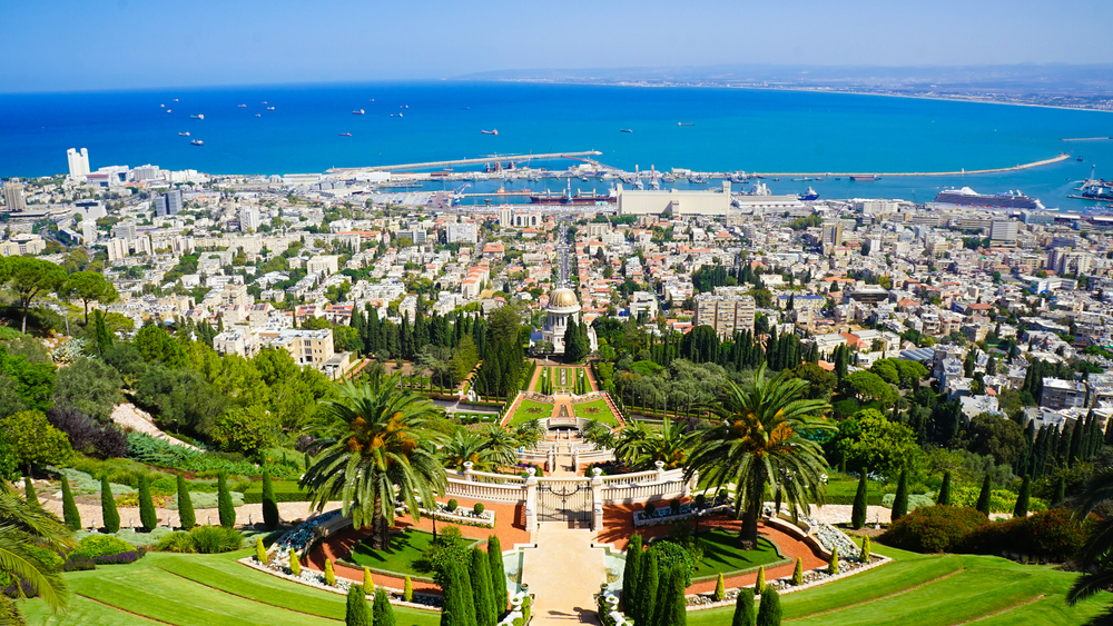 The top hotels in Haifa