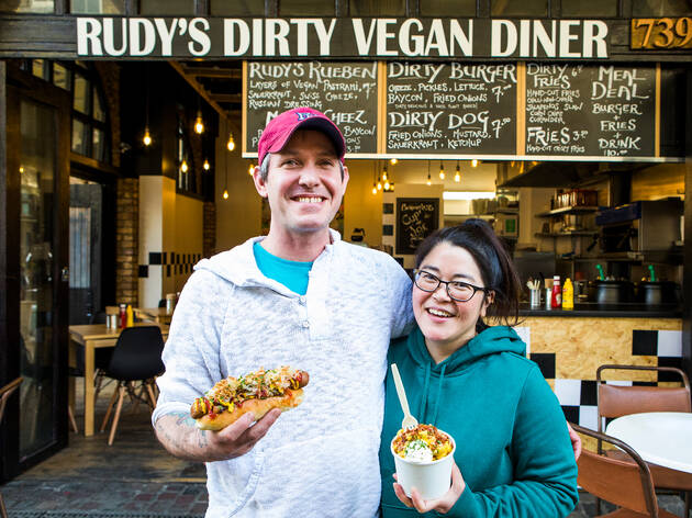 Rudy's Dirty Vegan Diner