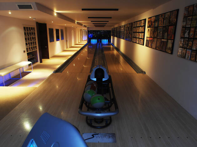 Cornucopia house to rent with bowling alley