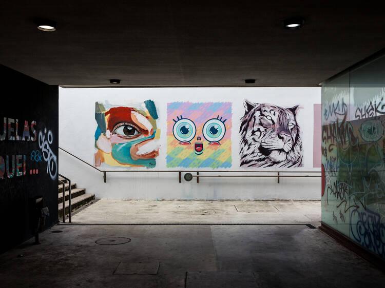 Siga este roteiro de arte urbana em Lisboa