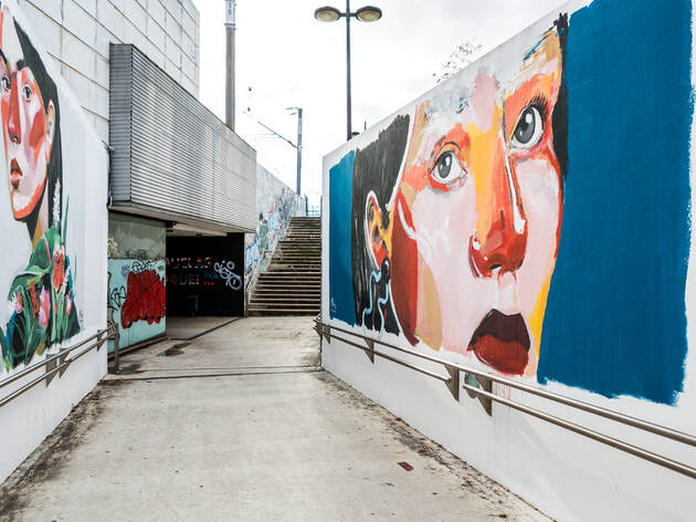 Mural de Entrecampos 9