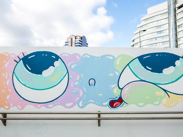 Mural de Entrecampos 13
