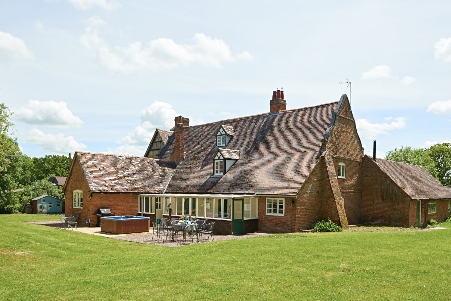 Churchill Wood farmhouse