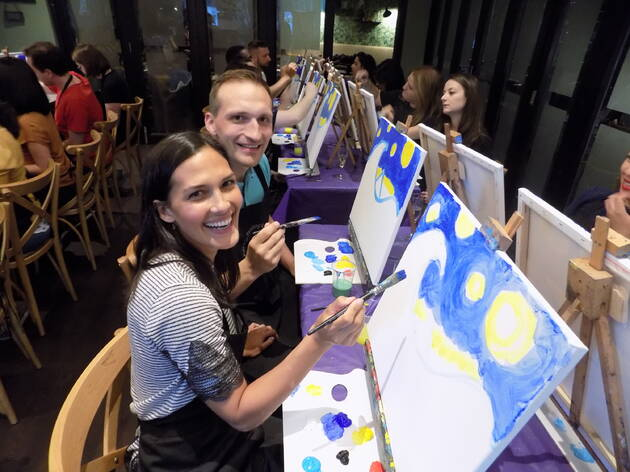 Painting and Prosecco Valentine's Special