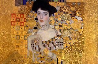 Gustav Klimt, Adele Bloch-Bauer I, 1906, detail