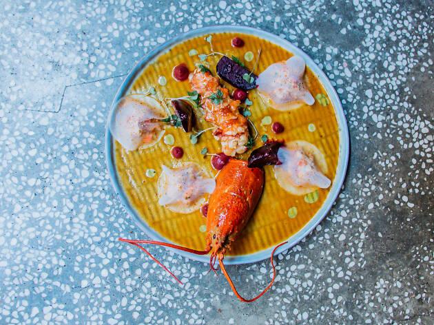 Brut - lobster two ways