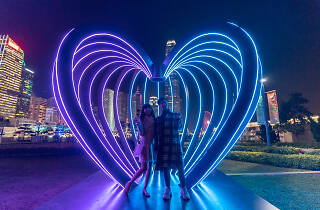 Hong Kong Pulse Light Festival ñ International Light Art Display