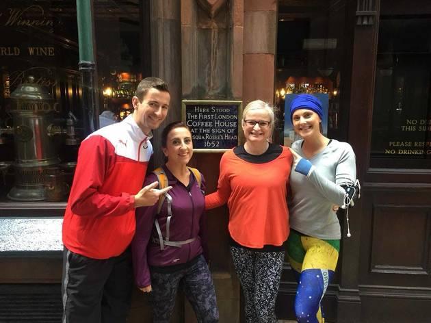 London's Coffee Revolution Running Tour