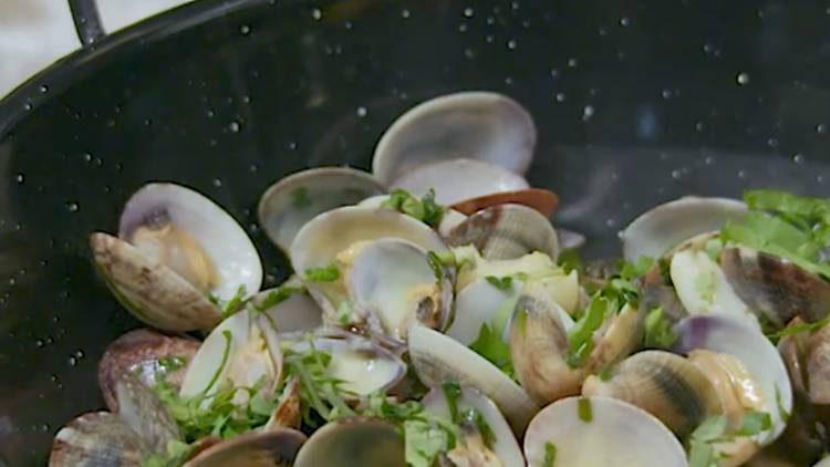 time out market clams