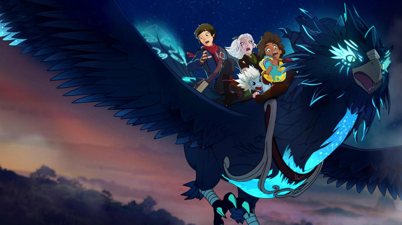Príncipe de los dragones: Temporada 2