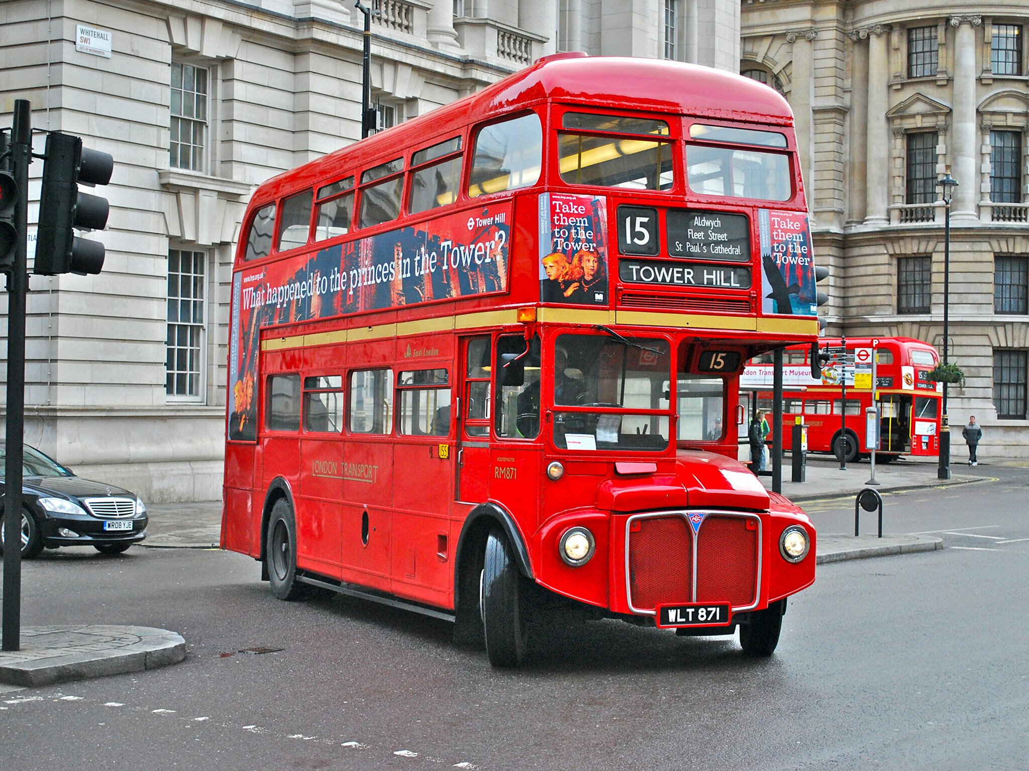Most Googled: why are London buses red?