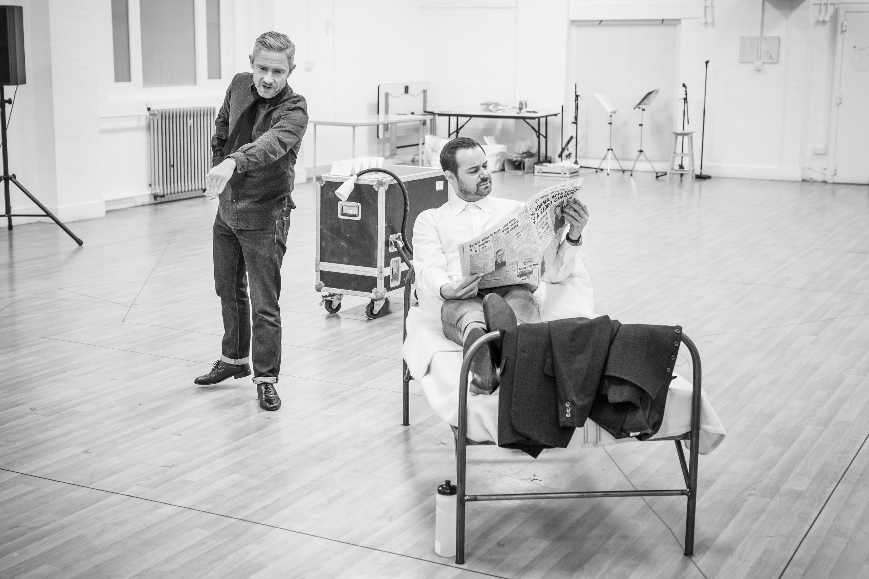 Martin Freeman and Danny Dyer, Pinter Seven